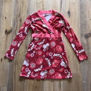 Tea Collection Nordic Blooms Wrap Dress